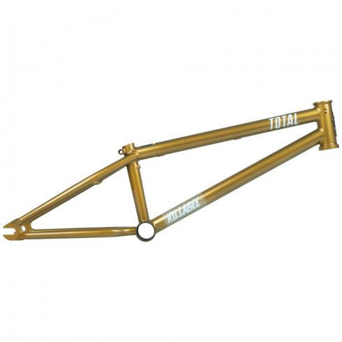 "Total BMX Killabee K4 Kyle Baldock Signature BMX Frame 18"" - Metallic Gold"
