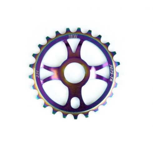 Total BMX Rotary Sprocket Rainbow