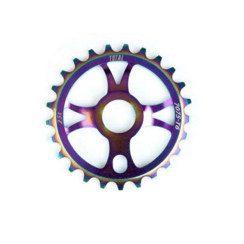 Total BMX Rotary BMX lánckerék - rainbow