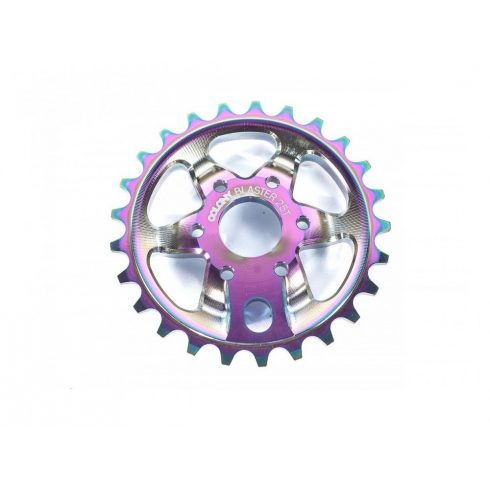 Colony Blaster Chris James Signature BMX Sprocket - Rainbow