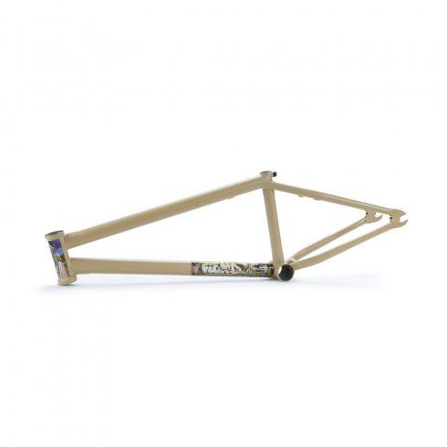 Fiend Morrow V3 Ty Morrow Signature BMX Frame - Flat Tan