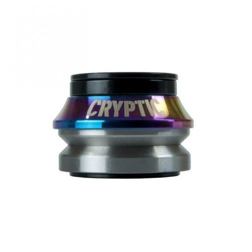 Cryptic Flow BMX Headset - Rainbow