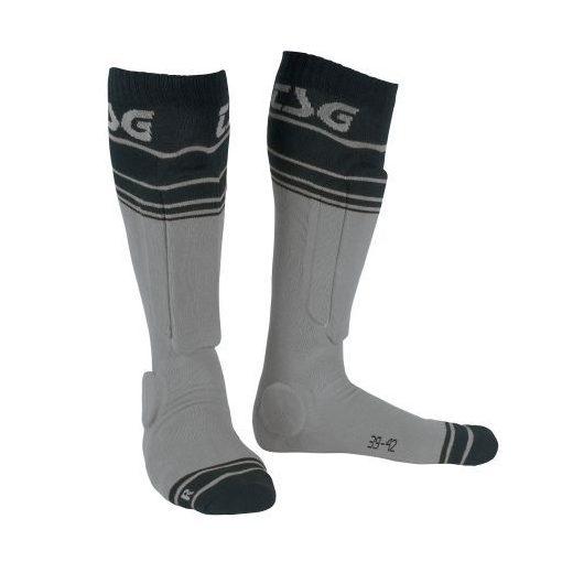 TSG Riot Socks - szürke - protektoros zokni
