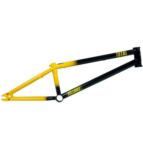 Total BMX Killabee K4 Kyle Baldock Signature BMX váz - fekete/sárga