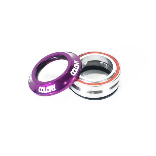 Colony BMX Headset - Purple