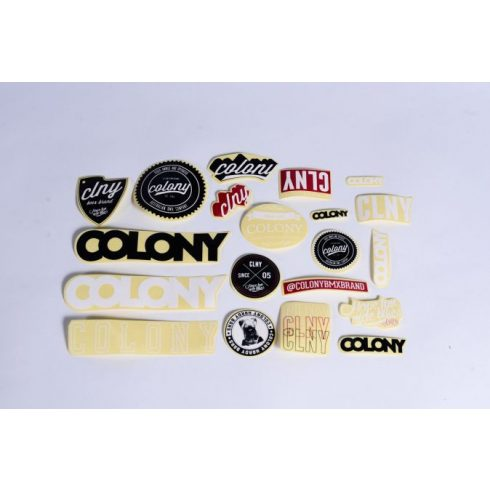 Colony BMX matricaszett