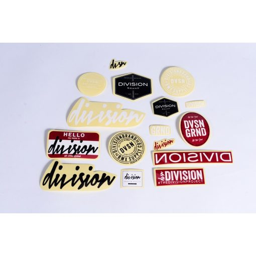 Division BMX Sticker Pack