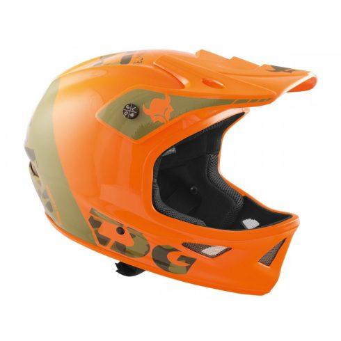 TSG Squad Graphic Design Trap Acid Orange Fullface Bukósisak