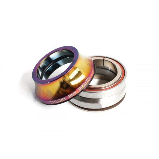 Colony Tall BMX Headset - Rainbow
